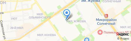 Центрально-Черноземный банк Сбербанка России на карте Старого Оскола