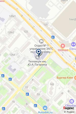 ТУРИСТИЧЕСКАЯ КОМПАНИЯ ФАРТ-ТУР на карте Люберец