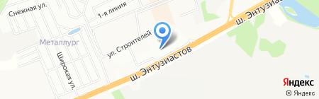 АГ-Моторс Балашиха на карте Балашихи