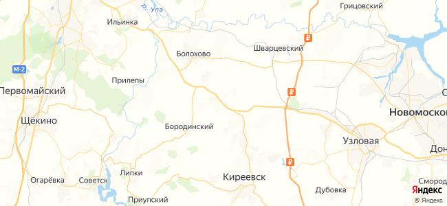 206 автобус в Узловой