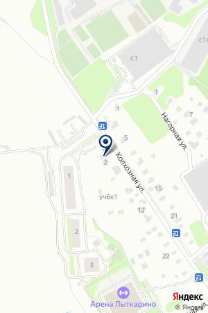 НАСОСНАЯ СТАНЦИЯ № 2 на карте Лыткарино