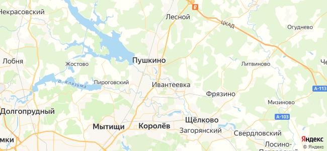 Гостиницы и Отели Королёва недорого - объекты на карте