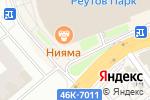 Схема проезда до компании Мушу в Реутове