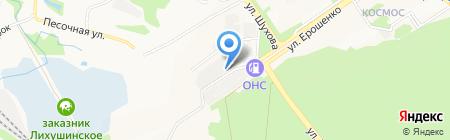 Отдел полиции №1 Управления МВД России по г. Старому Осколу на карте Старого Оскола