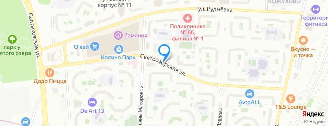 Святоозерская улица