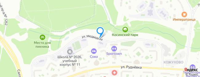 улица Медведева