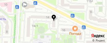 Анморук груп на карте Москвы