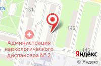 Схема проезда до компании Рекламно-Производственный Центр  в Череповце