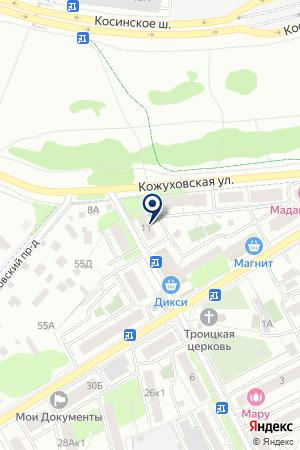 ПТФ КАРДОС РТИ на карте Люберец