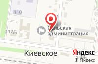 Схема проезда до компании Почтовое отделение №375 в Киевском