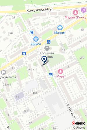 САЛОН КРАСОТЫ ГРАЦИЯ на карте Люберец