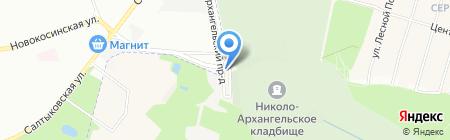 Балашихинский Похоронный Дом на карте Балашихи