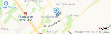 ЖЭУ №1 на карте Старого Оскола
