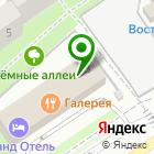 Местоположение компании ЕвроПроектСтрой
