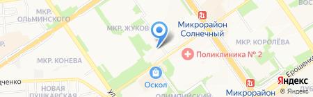 Банкомат АЛЬФА-БАНК на карте Старого Оскола