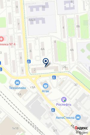 АЗС на карте Люберец