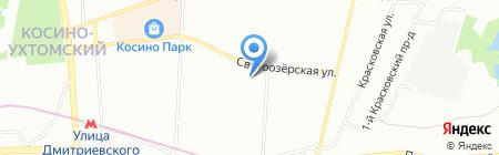 КомпьютероСервис на карте Москвы