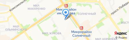 РООССА на карте Старого Оскола
