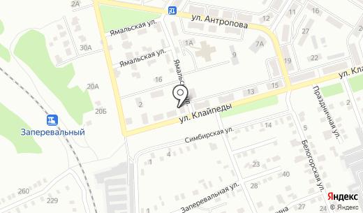 Кифа. Схема проезда в Донецке