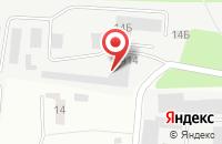 Схема проезда до компании Крон-М в Ивантеевке