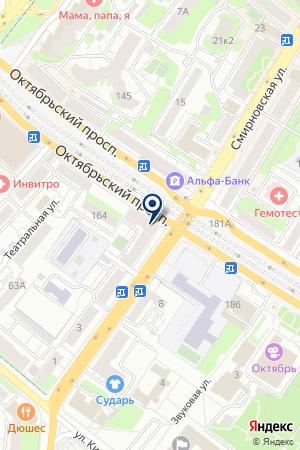 ПРОДОВОЛЬСТВЕННЫЙ МАГАЗИН 7 СТУПЕНЕЙ на карте Люберец