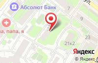 Схема проезда до компании Москва в Люберцах