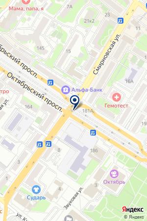 ГСК ВИРАЖ на карте Люберец