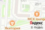 Схема проезда до компании Формула эстетики в Москве