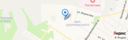 Интернет-клуб на карте Балашихи