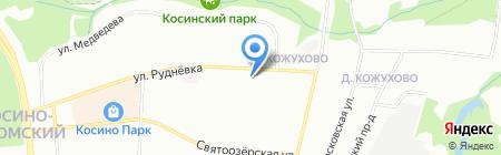Новый Мир на карте Москвы