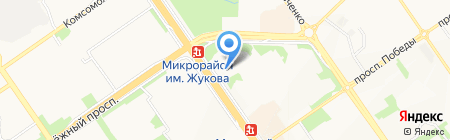 Банкомат АКБ Металлинвестбанк на карте Старого Оскола