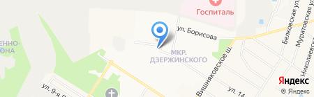 Кочерга на карте Балашихи