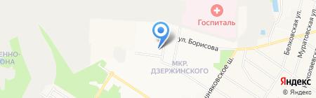 Аверин на карте Балашихи