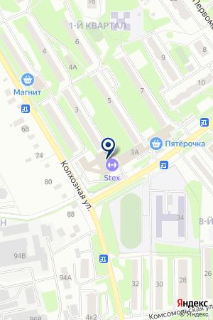 ТФ ТРАНСТЭК на карте Лыткарино