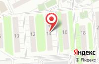 Схема проезда до компании Татьяна и К в Люберцах