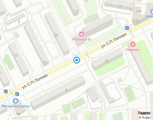 Товарищество собственников жилья «Побратимы» на карте Люберец