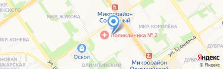 ТСЖ №9 на карте Старого Оскола