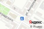 Схема проезда до компании Библиотека №9 в Донецке