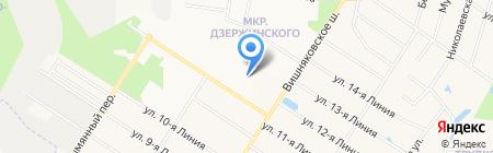 РусЕвроСервис на карте Балашихи