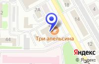 Схема проезда до компании ПОЛИГРАФИЧЕСКИЙ ЦЕНТР ГРАФФИТИ в Череповце