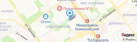 Продуктовый магазин на карте Старого Оскола