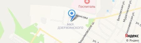 Ателье по ремонту одежды на карте Балашихи