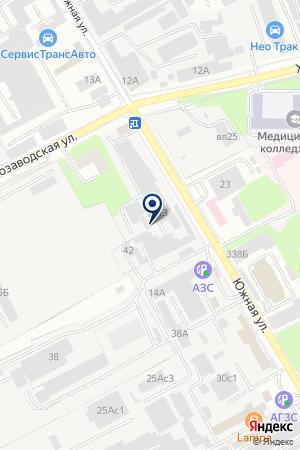 АВТОКОЛОННА № 1787 на карте Люберец