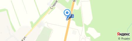 АЗС НеоТек на карте Братовщиной