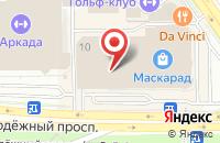 Схема проезда до компании АЗС СОНБ в Старом Осколе