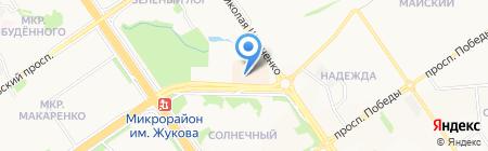 АЗС СОНБ на карте Старого Оскола