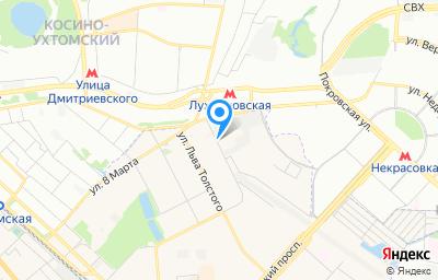 Местоположение на карте пункта техосмотра по адресу Московская обл, г Люберцы, ул Гоголя, д 3