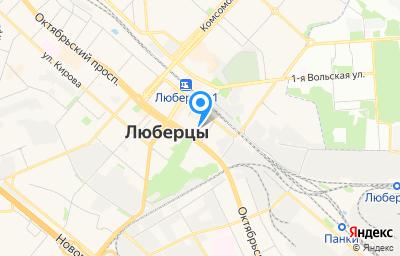 Местоположение на карте пункта техосмотра по адресу Московская обл, г Люберцы, ул Волковская, д 49
