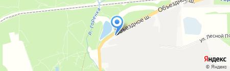 АЗС БТК на карте Балашихи