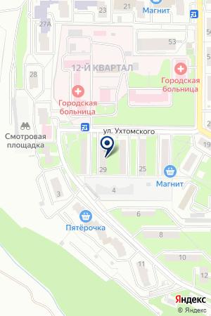 КАССА КОММУНАЛЬНЫХ ПЛАТЕЖЕЙ на карте Лыткарино
